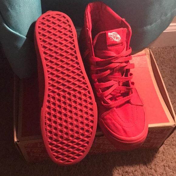 Vans Shoes   Mono Canvas Sk8hi Vans